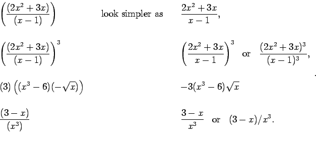 Top Algebra Errors Made by Calculus Students